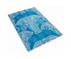 Kinderteppich, »Lovely Kids 411«, Böing Carpet, rechteckig, Höhe 6 mm, gedruckt, blau, blau