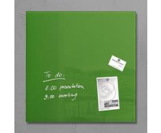 sigel Glas-Magnettafel, grün, grün