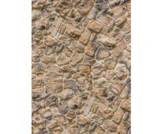 Komar, Vlies Fototapete »Muro«, 184/248 cm, Komar, braun, braun/grau
