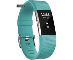 FitBit Charge 2 Fitness Tracker in türkis, Größe: L