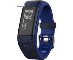Garmin Vivosmart GPS-HR Fitness Tracker in blau, Größe: M