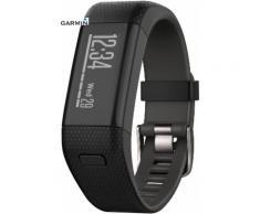 Garmin Vivosmart GPS-HR Fitness Tracker in schwarz, Größe: M