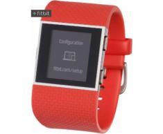 FitBit Surge GPS Fitness Tracker in orange, Größe: S