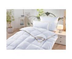 Queens Kissen, 2x 135x200 + 2x 80x80 cm, ideal für Hausstauballergiker, weiß