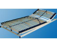 Breckle Lattenrost »Manao Fix 30 Leisten«, bis 100 kg, Kopf- und Fußteil verstellbar, 80x200 cm, FSC®