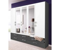 kleiderschrank grau g nstige kleiderschr nke grau bei livingo kaufen. Black Bedroom Furniture Sets. Home Design Ideas