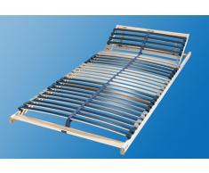BeCo Lattenrost »Dura Flex LR-K«, Kopfteil verstellbar, 140x200 cm, 7 Zonen, FSC®