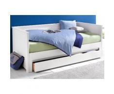 Schlafwelt Funktionsbett, Liegefläche 90/200 cm bzw. 180/200 cm, weiß
