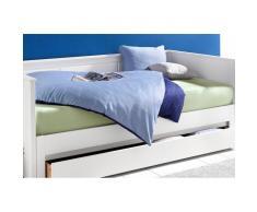 Breckle Gästebett, Liegefläche 90/200 cm bzw. 180/200 cm, blau
