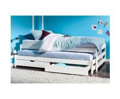 Schlafwelt Funktionsbett, weiß