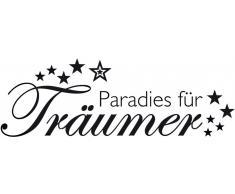 Home Affaire Wandspruch »Paradies für Träumer «, lila