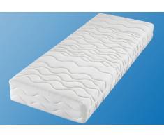 Breckle Taschenfederkernmatratze »Frottee 500«, 90x190 cm, Bezug abnehmbar und waschbar, 101-120 kg