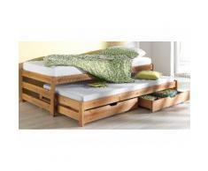 Schlafwelt Funktionsbett, beige