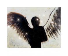 Ölgemälde Engel, 100% handgemaltes Wandbild Gemälde XL, 120x90cm ~ Variantenangebot