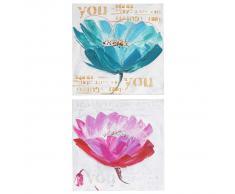 Ölgemälde Orchidee, 100% handgemaltes Wandbild Gemälde XL, 100x50cm ~ Variantenangebot