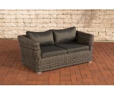 2er Sofa 2-Sitzer Sousse Poly-Rattan ~ Variantenangebot