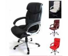 Bürostuhl Chefsessel Drehstuhl M61 Kunstleder, geeignet bis 2,00 m Körpergröße ~ Variantenangebot