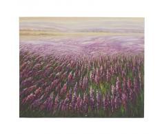 Ölgemälde Blumenfeld, 100% handgemaltes Wandbild Gemälde XL, 100x80cm ~ Variantenangebot