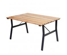 Gartentisch Granada II, Holztisch Tisch, Eucalyptus-Hartholz 60x105x80cm ~ Variantenangebot