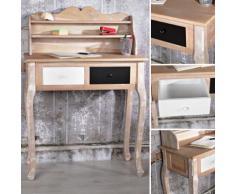 Shabby Sekretär Schreibtisch Frisier Schmink Kommode Kosmetik Tisch Vintage Holz