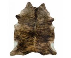 Braunes Stierfell (Kuhfell) Exote Fellteppich 3,5 qm Einzigartige Musterung