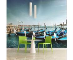 350x270 cm Fototapete Gondeln auf dem Canal Grande in Venedig