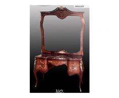 Barock Frisier Kommode Rokoko Louis XV MoBdNoLu07624