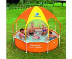 Bestway Splash in Shade Play Pool 56432 mit Sonnendach und Sprinkler