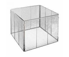 Brista Metall Komposter aus Steckmetall feuerverzinkt Metallkomposter