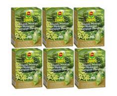 Oleanderhof® Sparset: 6 x Compo Bäume, Hecken, Sträucher Langzeit-Dünger, 2 kg + gratis Oleanderhof