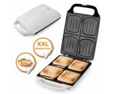 Domo XXL Sadwichmaker Do9064C , Sandwichmaker, weiß