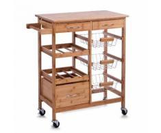 Küchenrollwagen Bamboo