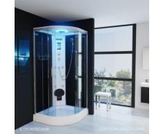 TroniTechnik Duschtempel Fertigdusche Duschkabine Dusche Glasdusche Eckdusche Komplettdusche S100Xi2
