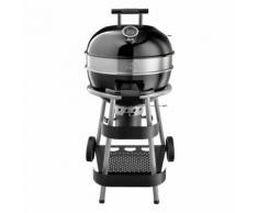 Jamie Oliver BBQ Classic Premium Holzkohlegrill, mit Rollen, Holzkohle Grill, Grillwagen, Kugelgrill