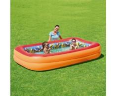 3D Adventure Family Pool Swimmingpool 269 x 175 cm + 3D Schwimmbrillen