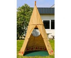 Indianerzelt Natur Zelt Kinderspielzelt Tipi Spielzelt