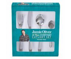 Jamie Oliver Vintage Besteckset, 24-tlg., Besteck, Messer, Gabel, Edelstahl, 555194