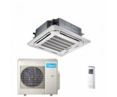 Klimaanlage Midea Super Slim 4-Wege Deckenkassette 10,5kW C&H Inverter