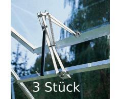 Einhell 3 x Automatischer Fensteröffner Fh70 für Gewächshaus Frühbeet 7kg NEU