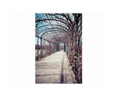Leinwandbild Gartenlaube - 50 x 75 cm