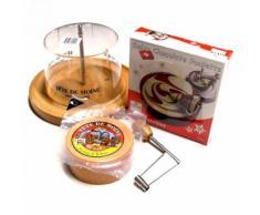 Girolle Set Choco Roulette Pistazie Tete de Moine Käsehobel Haube