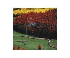 C.K Erdspieß-Rasensprenger, Flächenabdeckung: 450 qm mit Erdspieß zur sicheren Positionierung, einst
