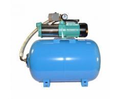 Wasserpumpe 130 l/min 1,65 kW 230V mit 50 bis100L Druckkessel Jetpumpe Gartenpumpe Hauswasserwerk Kr