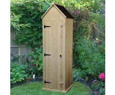 Gartenschrank aus Holz 214cm Natur