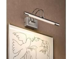 LED Bilderleuchte Galeria Eisen-gebürstet 6W 395mm