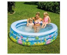 Happy People Kinder Pool Planschbecken aufblasbar Aquarium 229x50cm NEU
