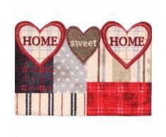 Salonloewe Fußmatte waschbar Cottage Chic Shaped Hearts 50x75_S cm SLD1278-050x075_S
