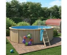 """Holzpool """"Cooper"""" von Isidor Größe 460x120cm inkl. Filteranlage, Pool mit Holzverkleidung"""