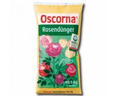 Oscorna Rosendünger 10,5 kg organischer ÖKO Dünger für Rosen Blumen Beet Balkon