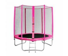 SixJump 1,85 M Gartentrampolin Pink Tp185/1571